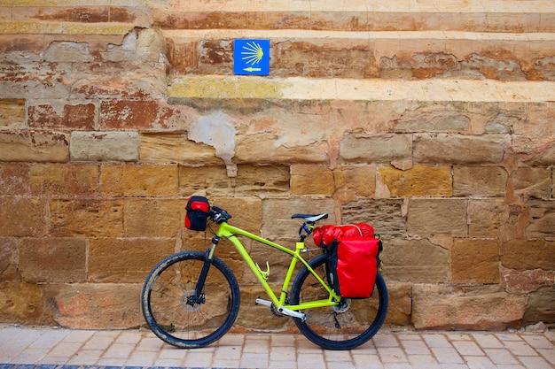 Navarrete fahrrad der weg des heiligen james la rioja