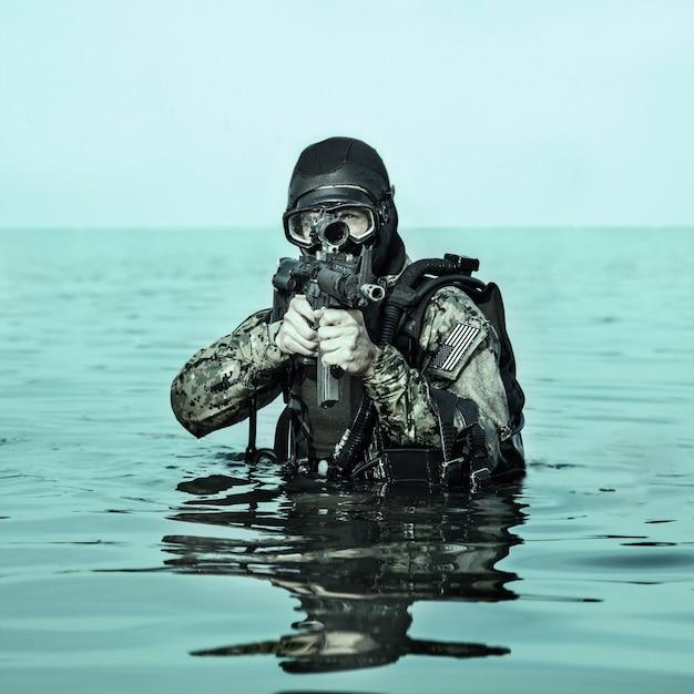 Navy seal froschmann
