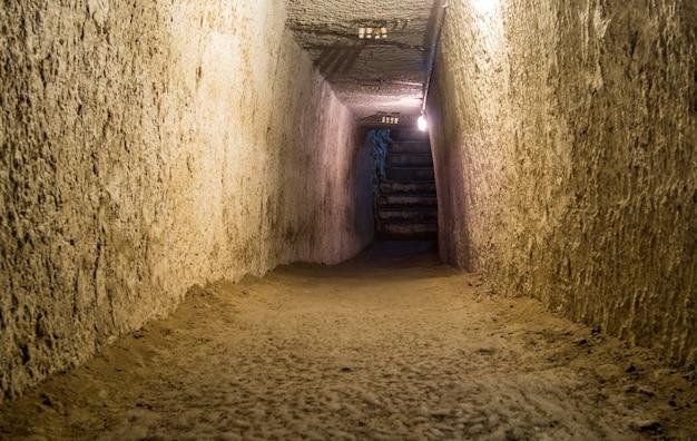 Neapel undergroundm, italien
