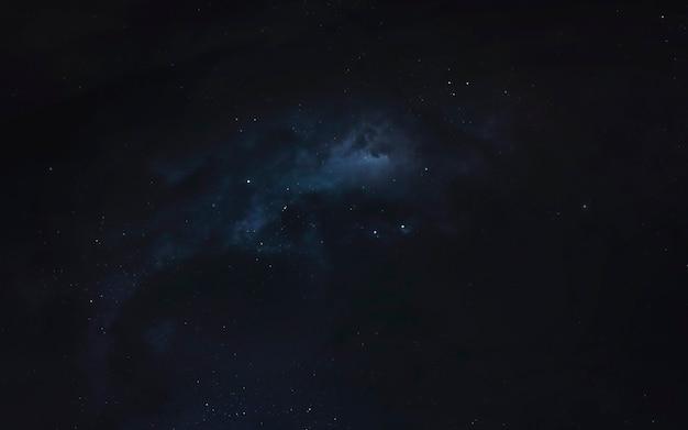 Nebel im weltraum, fantastische science-fiction-tapete, kosmische landschaft. elemente dieses bildes von der nasa geliefert