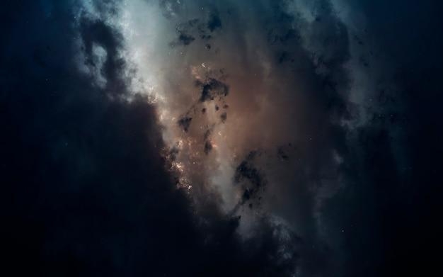 Nebel im weltraum