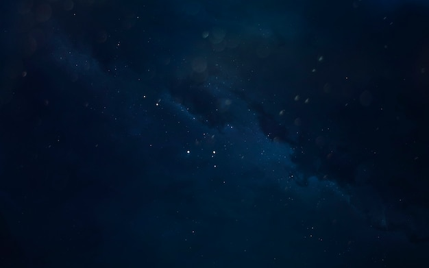 Nebel. kosmische landschaft, wunderschöne science-fiction-tapete mit endlosem weltraum. elemente dieses bildes von der nasa geliefert