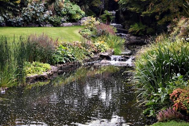 Nebenfluss im hyde park, london
