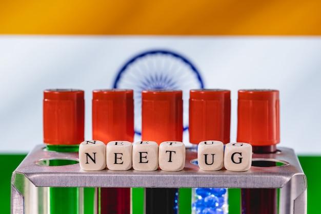 Neet (ug) - der national eligibility cum entrance test (undergraduate) ist ein ganz indischer vormedizinischer aufnahmetest für studenten.