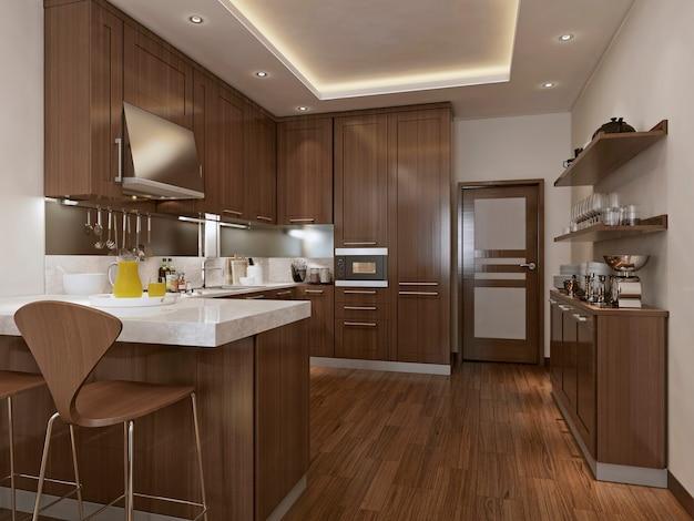 Neoklassizistischer küchenstil