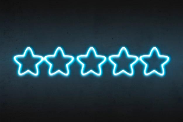 Neon sterne bewertung