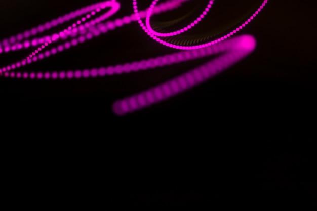 Neonlichtstreifenhintergrund