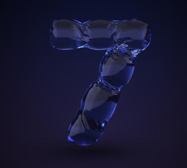 Neonwasser nummer 7.