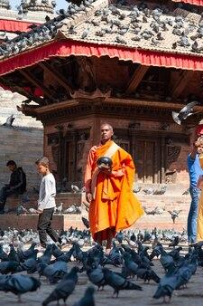 Nepal mönch