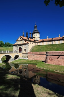 Nesvizh-schloss in weißrussland-land