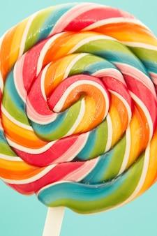 Netter lutscher mit vielen farben