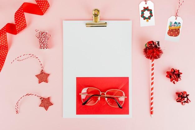 Netter mädchenbrief an den weihnachtsmann