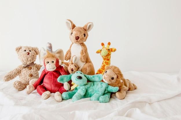 Netter teddybär und die bande