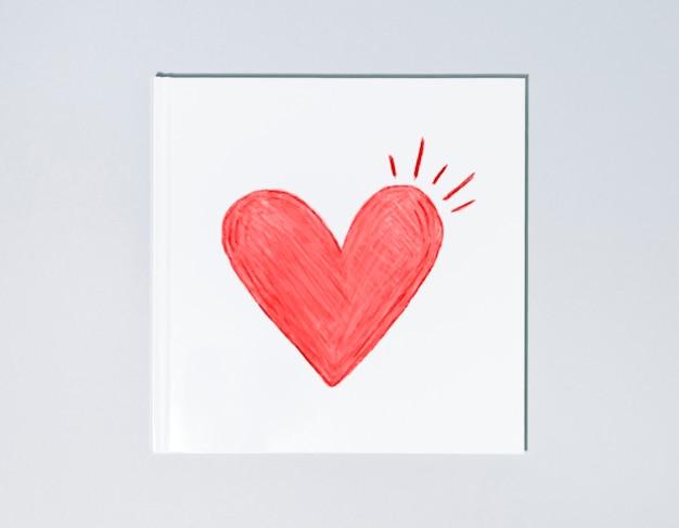 Netter valentinstag-kartenentwurf