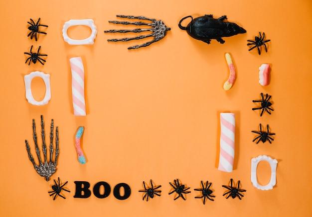 Nettes halloween-sachen