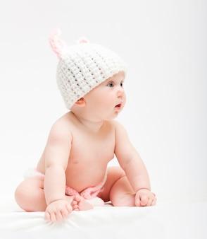 Nettes neugeborenes porträt