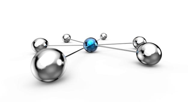 Netzwerk illustration 3d-rendering