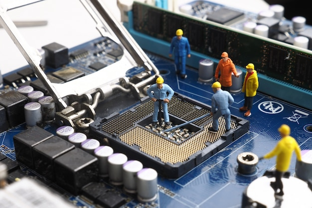 Netzwerk mainboard service spielzeug rundfunk