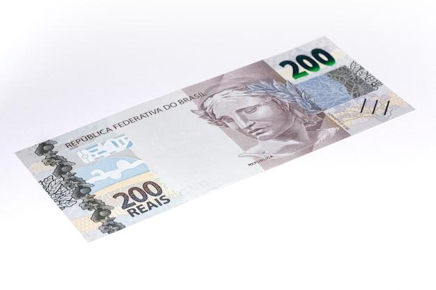 Neu eingeführte 200 reais brasilianische banknote
