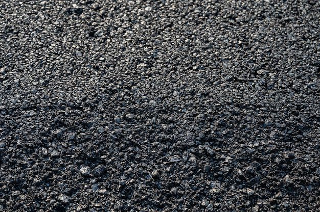 Neue asphalt-asphaltbeschaffenheit der autobahnstraße