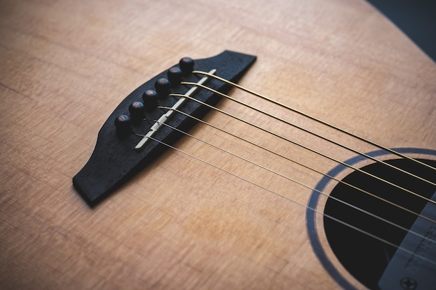 Neue hölzerne volksgitarrenmusikinstrumente