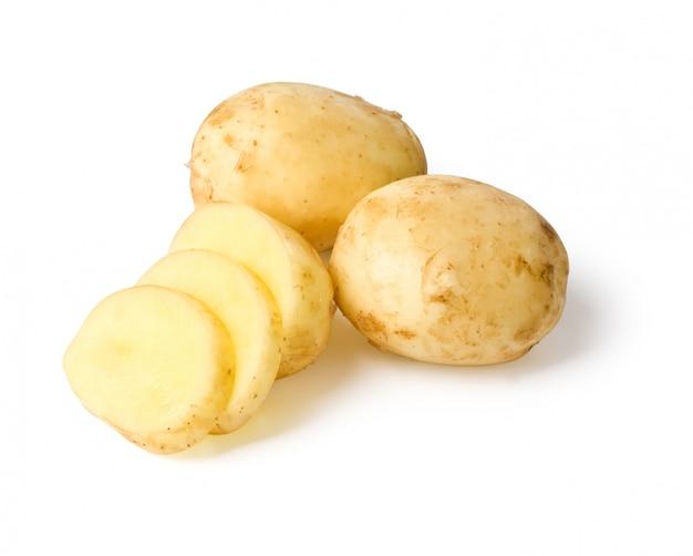 Neue kartoffel isoliert