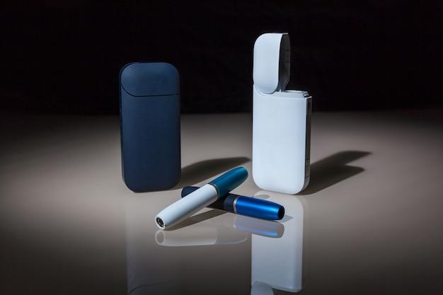 Neue technologie der elektronischen zigaretten, tabakerhitzungssystem von iqos Premium Fotos