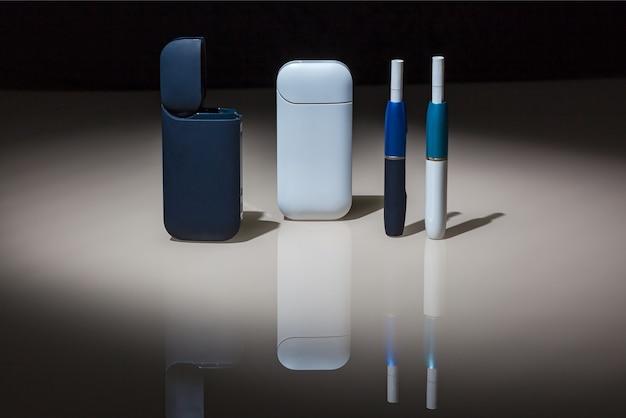 Neue technologie der elektronischen zigaretten, tabakerhitzungssystem von iqos