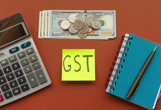 Neue währungs- und waren- und dienstleistungssteuer, gst-steuer
