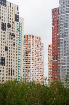 Neue wohngebäude