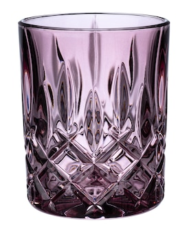 Neues leeres glas isoliert