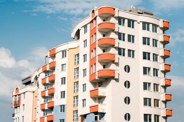 Neues wohngebäude