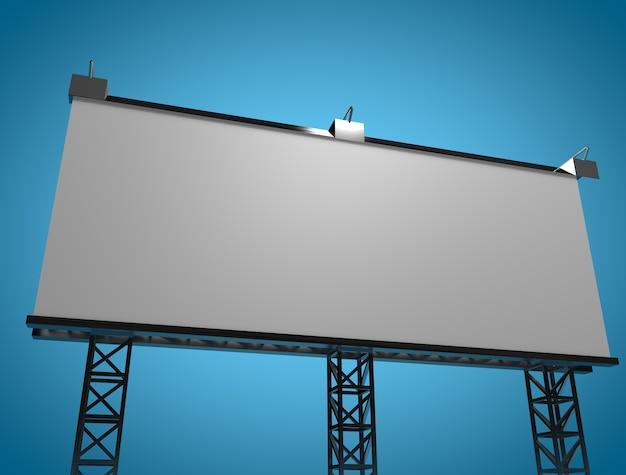 Neueste mock-up-billboard