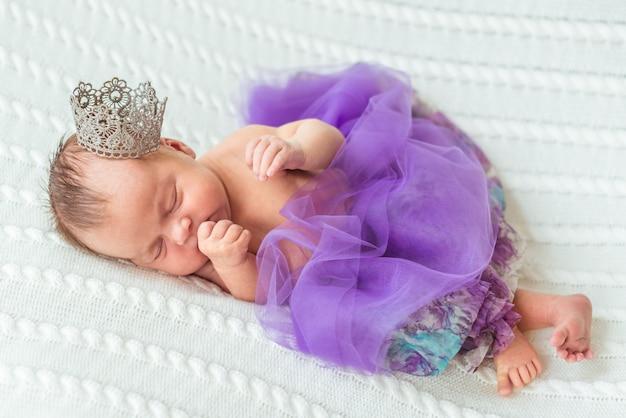 Neugeborene babyprinzessin