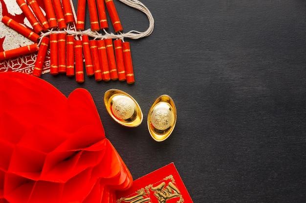Neujahr chinesische 2021 feuerwerkskörper