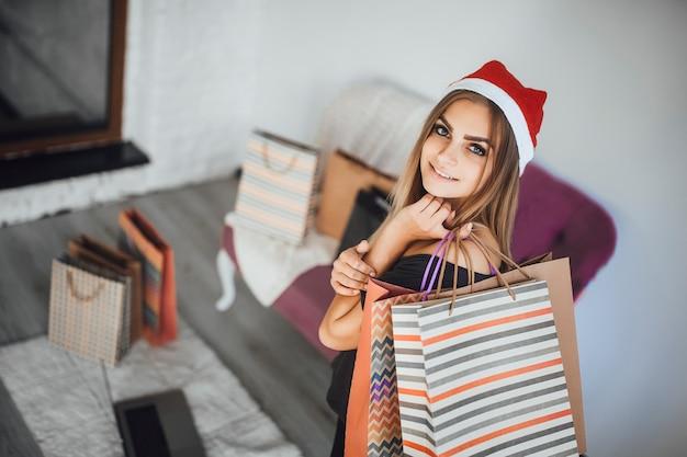 Neujahr einkaufen