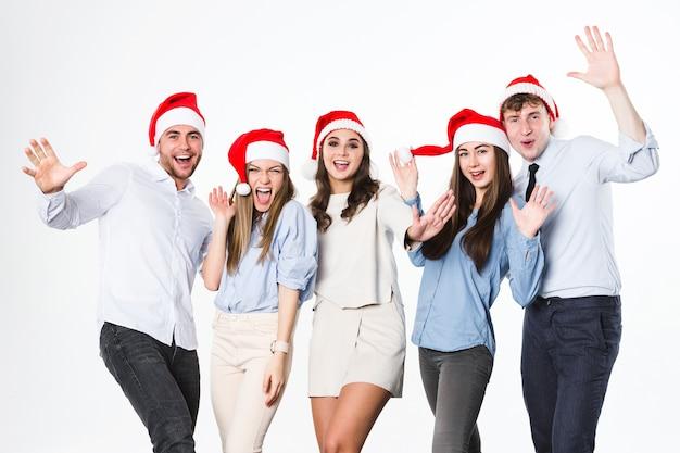 Neujahrs- oder weihnachtsfeier