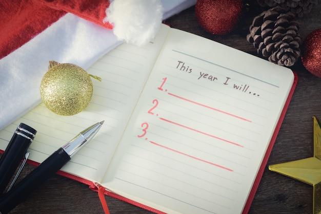 Neujahrsauflösung, leere liste