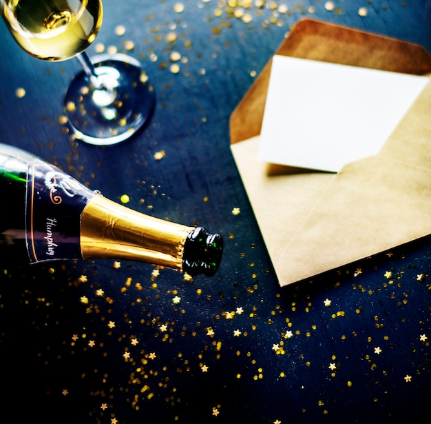 Neujahrsfeiern kopieren raum