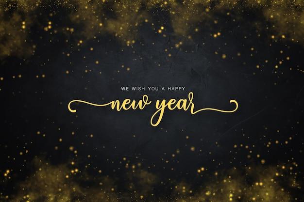 Neujahrshintergrund