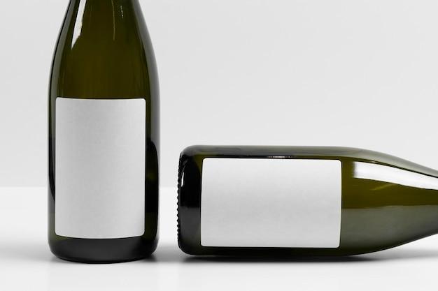 Neujahrsmodell champagnerflaschen