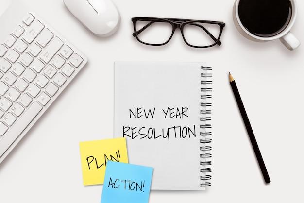 Neujahrsvorsatz-zielliste 2020-zielsetzung