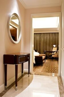 New york, interieur eines luxushotels