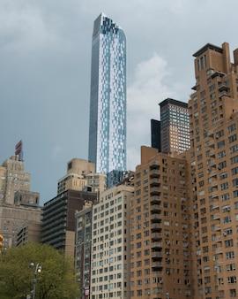 New york skyline von der küche der hölle, manhattan, new york city, staat new york, usa