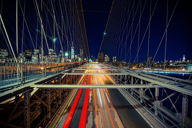 New york verkehr in bewegung