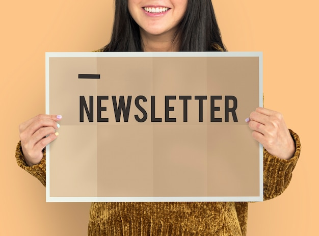 Newsletter-update melden informationen abonnieren