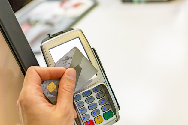 Nfc - nahfeldkommunikation, kreditkartenzahlung