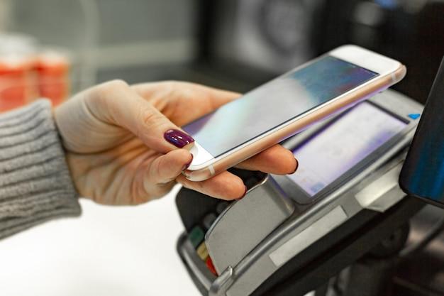 Nfc - nahfeldkommunikation, mobiles bezahlen