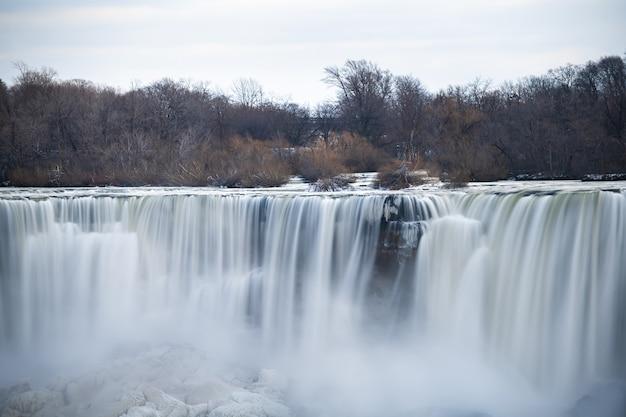 Niagara fällt im winter