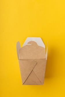 Nicht-kunststoff-boxen für die lieferung von chinesischen nudeln